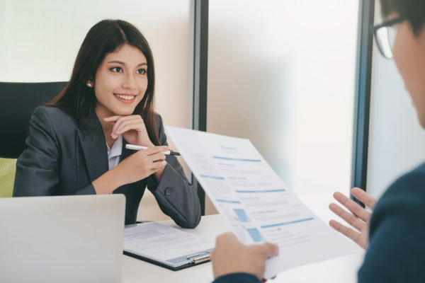 business situation job interview concept t20 nonV17
